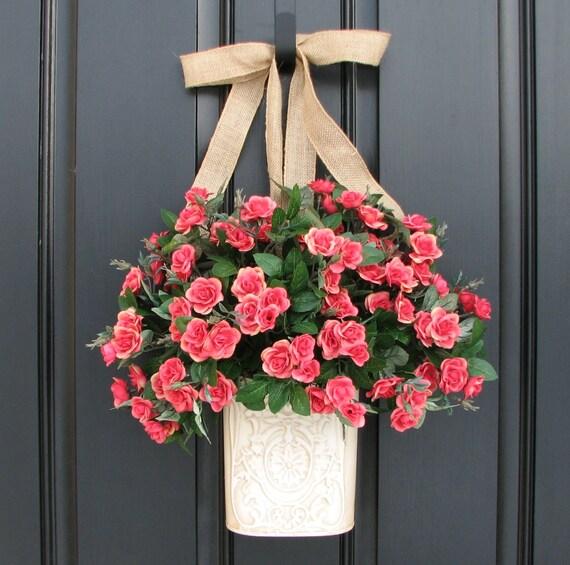 Items Similar To Spring Wreath Outdoor Spring Wreath