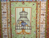 "Quilt Kit Tiny Tailors Collection Pre-Cut 48"" x 64"""