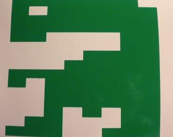 E.T. Atari vinyl rub on decal sticker video game retro  Macbook