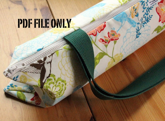 Items Similar To Yoga Bag Sewing Pattern Yoga Mat Bag