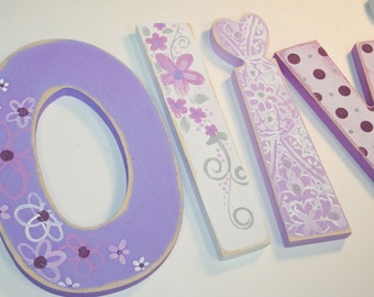 Olivia Shabby Chic Wooden Nursery Letters