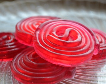 Cherry Licorice Wheel Candy Soap - Realistic Candies