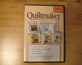 Quiltmaker Magazine - 2011 - CD Digital Collection