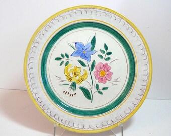 """Stangl Terra Rose 12 1/2"""" Platter"""