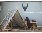 CLEARANCE - In Stock Burlap Tent