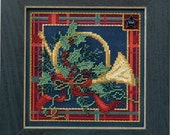 Mill Hill Buttons & Beads Winter Series - French Horn MH14-4306 Christmas Counted Cross Stitch Kit