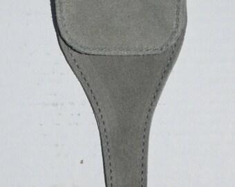 Grey Suede Scissor Case