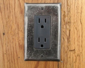 Fire Cooked Rocker/Decora Switchplate - Wall Plate, Cover Plate, Switch Plate
