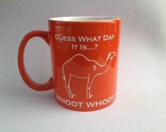Orange Hump Day Mug