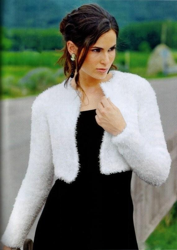 Made to Order/ Handmade Hand Knit Kate Middleton Shrug / Bolero No Buttons /Medical Scrubs/Bolero Sizes to Choose from