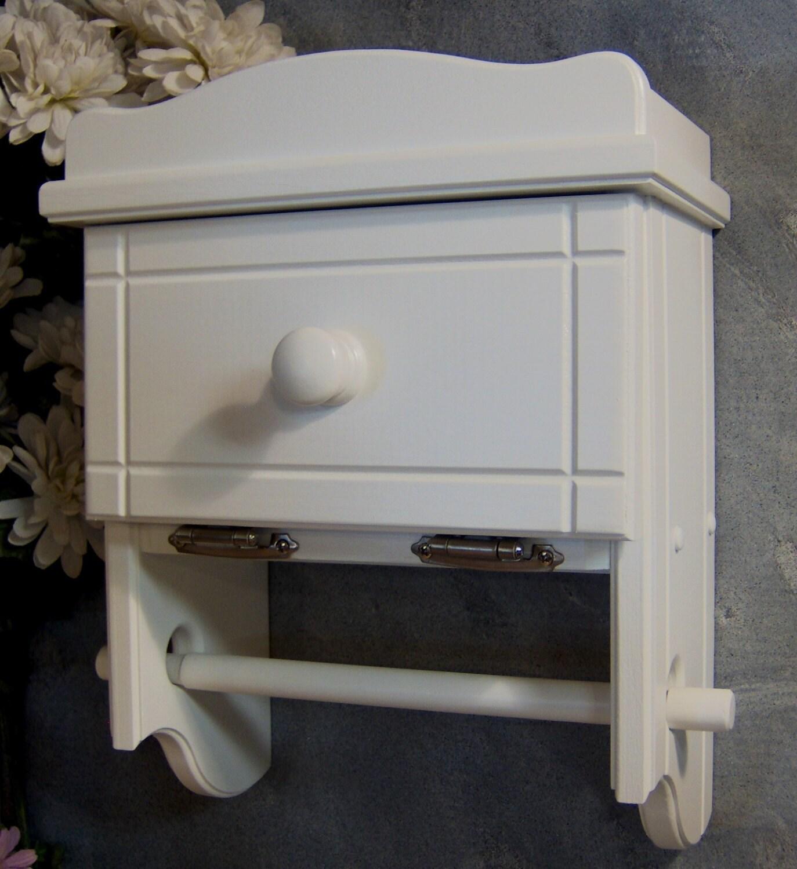 wt505 toilet paper holder shelf with storage cabinet two rolls. Black Bedroom Furniture Sets. Home Design Ideas