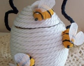 White Honey Bee Hive Made To Order