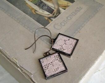Lace Earrings Wedding Jewelry
