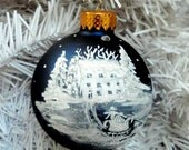 For Danielle Lovelace -Personalized Hand Painted Christmas Ornament
