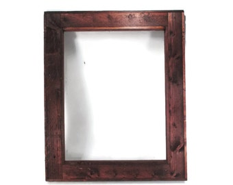 Large Rustic Picture Frame 16 x 20 - For Photos or Art Prints - Reclaimed Wood