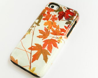 Colorful Leaves iPhone 6S Case, Nature iPhone 5S Case Fall Leaves  Case Foliage iPhone Case Autumn Colors iPhone 6 Plus Case