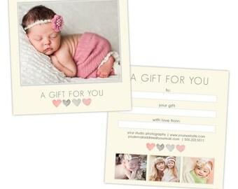 Photography gift certificate etsy pronofoot35fo Images