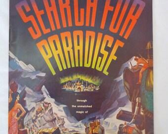 SALE Search for Paradise, Official Souvenir Magazine 1957