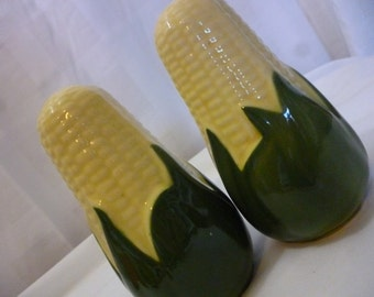 Vintage SHAWNEE King Corn Oversized Salt and Pepper Shakers