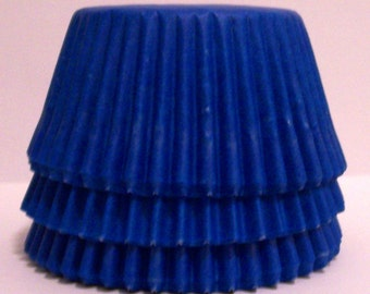 Blue Cupcake Liners - Choose Set of 50 or 100