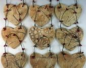 Ceramic Christmas Ornament - Botanical Tree Ornament