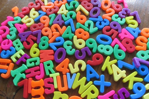 fisher price magnetic letters and numbers
