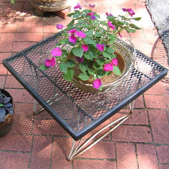 Vintage Metal Patio Table