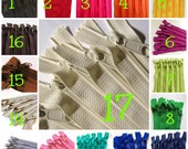 22 inch handbag zippers with long pull, YKK, TEN pcs, Choose colors: red, pink, yellow, blue, green, pink, turquoise, navy, grey, brown