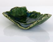 Tiny Bowl Turquoise Green Colored Dish or Jewelry Bowl