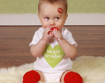 Red Valentine's Day Baby Leg Warmers