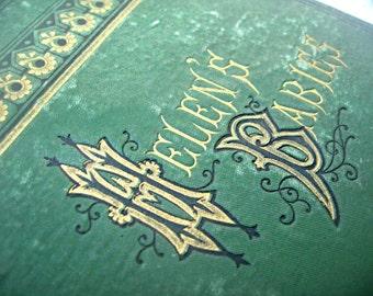 Antique book, first edition 'Helen's Babies', 1876 book, good condition, rare first edition, book collectors book, antique gift book