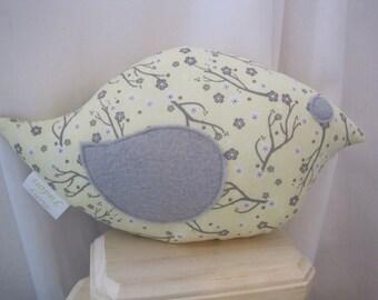 nursery bird pillow