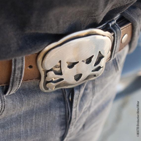 Dog Belt Buckle, Outlaw Doggy,  Metal Belt Buckle,  Men's Belt Buckle, Womens Belt Buckle, Dog Lovers, Big Belt Buckle