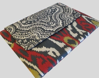 Microsoft Surface Case, Surface Book Case, Surface Sleeve, Surface Cover, Surface Pro 2 3 4 RT Case Ikat Style 3