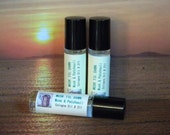 MUSK TIL DAWN Roll On Perfume Cologne Oil Musk & Patchouli - Handmade Hippie Cologne