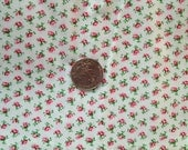 1/2 Yard Vintage Cotton Fabric 36 in selveges