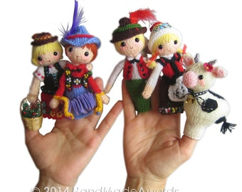 Families of the World TYROLEAN FAMILY Pdf Email Knit PATTERN