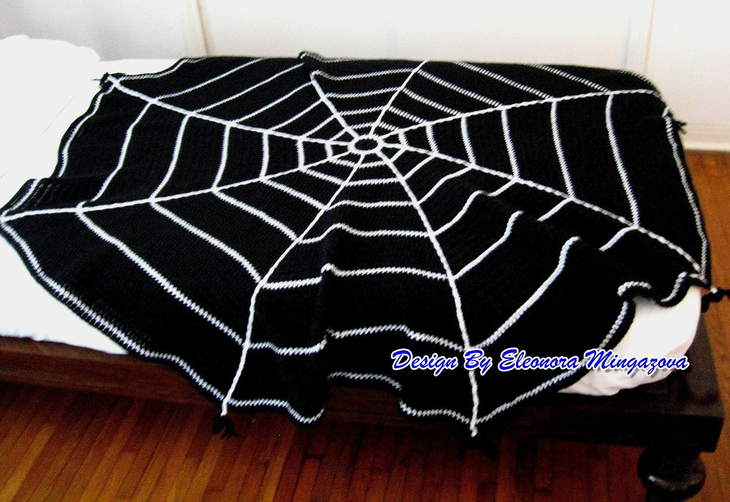 Pdf crochet pattern to make your own halloween spider web crochet 1 bankloansurffo Images