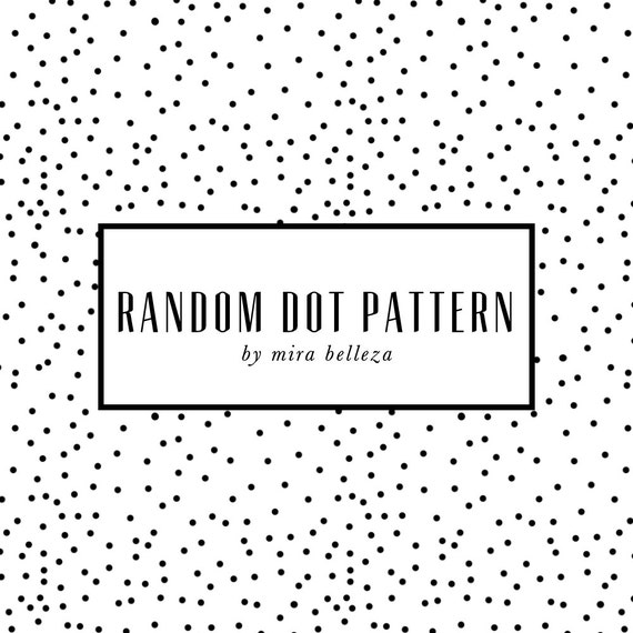 items similar to random dots seamless background for websites blogs digital scrapbook 3. Black Bedroom Furniture Sets. Home Design Ideas