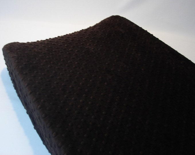 Changing Pad Cover Dark Brown  Espresso
