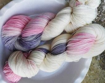 Little White Lies -- Classic Sock-- 75/25 Blend of Superwash Merino Wool and Nylon