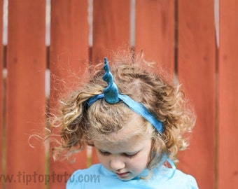 Kid's wearable unicorn horn- You choose color and size!
