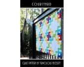 Quilt Pattern PDF Courtyard in Baby-King Sizes -- BaliPop Friendly