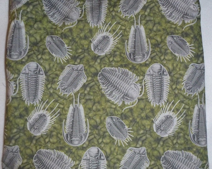 Attack of the Trilobites Backpack/tote Custom Print made to order