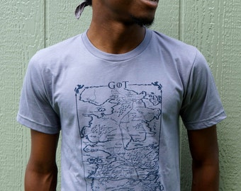 """Shop """"game of thrones map"""" in Clothing"""