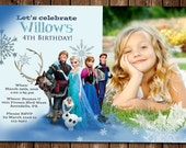 Frozen Photo Invitation!