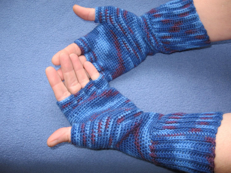 Half-Finger Gloves Pattern