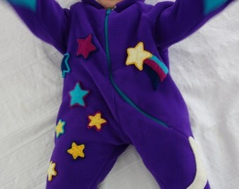 Stella Star Baby Sherpa Bunting
