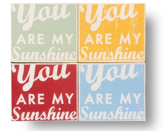 "You Are My Sunshine ""Fun Size"" 9 x 10"