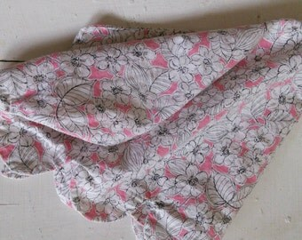 Vintage Floral Clothing Protector